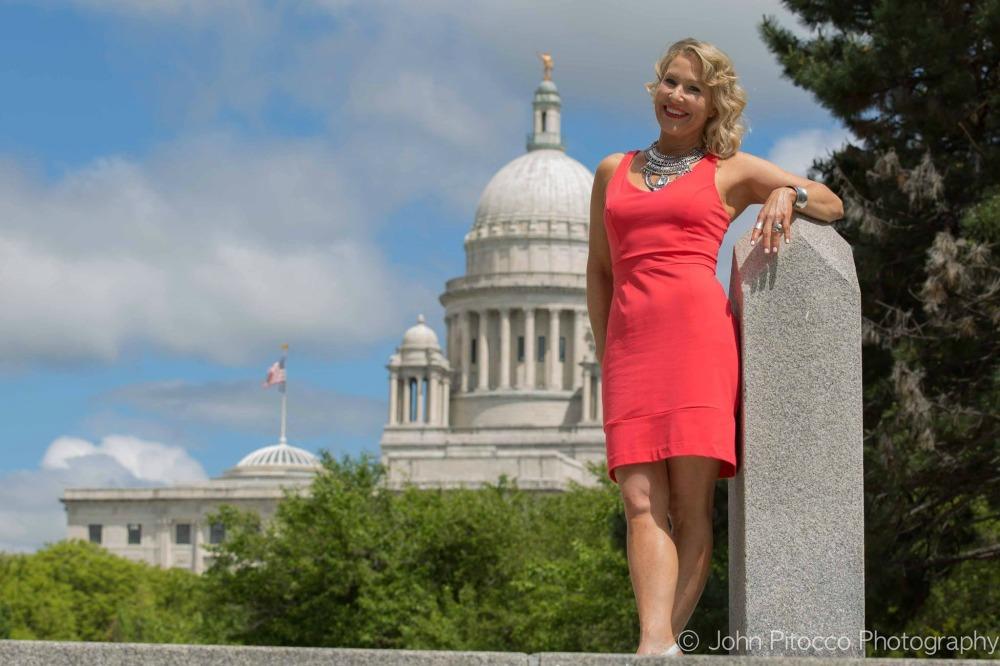 Sarah Hale Folger. JP Statehouse