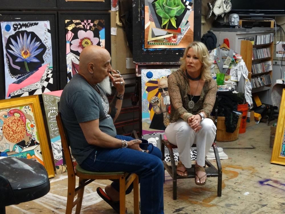 Sarah Hale Folger with Bert 8